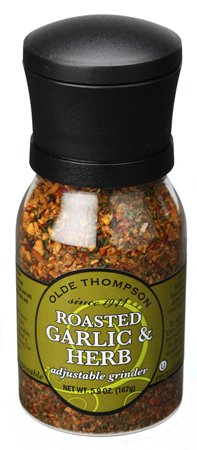 Olde Thompson Roasted Garlic and Herb Adjustable Grinder 5.9 oz