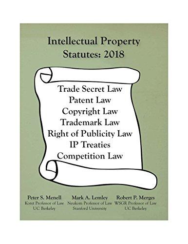 (Intellectual Property Statutes 2018)