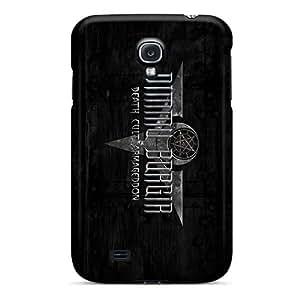 Anti-Scratch Hard Phone Case For Samsung Galaxy S4 (IcM11081gBsk) Custom Realistic Dimmu Borgir Band Pattern