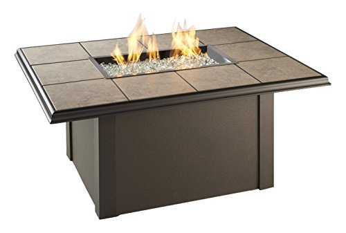 Outdoor Great Room Napa Valley Fire Pit Table with Brown - Napa In Outlets