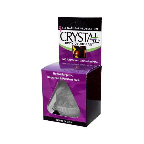 Wholesale Crystal Rock Body Deodorant - 3 oz, [Bathroom, Deodorants]