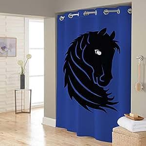 Right Canvas Blue 180cm x 200cm Shower Curtain - RG138NPAN00068