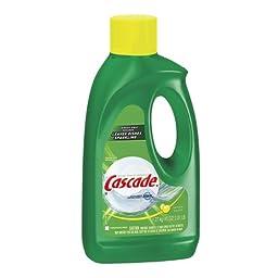 Cascade dishwashing gel lemon scent 9/45oz [PRICE is per CASE]