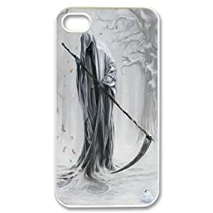 Hard Shell Case Of Grim Reaper Customized Bumper Plastic case For Iphone 4/4s