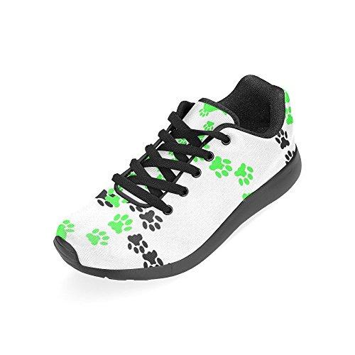 Interestprint Womens Väg Löparskor Jogging Lätta Sport Gå Atletiska Sneakers Hundtass