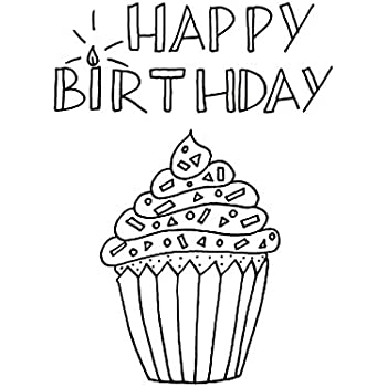 Amazon.com : Birthday Cards - Happy Birthday Doodles ...