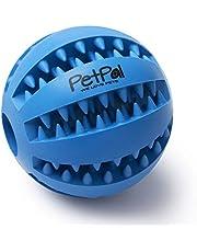 PetPäl Hondenbal snackbal van natuurrubber - hondenball met labyrint Ø 7cm - hondenspeelgoed kan worden gevuld met lekkernijen - kauwspeelgoed, hondenspeelgoed voor grote & kleine honden