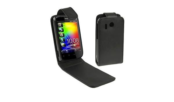 wholesale dealer 194c6 8f64e Amazon.com: Phone Case Cover Leather Case for HTC Explorer / A310E ...