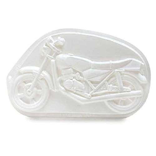 CK Products Motorcycle Pantastic Plastic Cake Pan