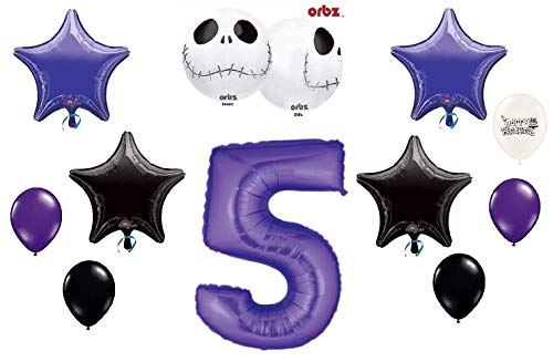 Jack Skellington Nightmare Before Christmas Birthday Party Balloon