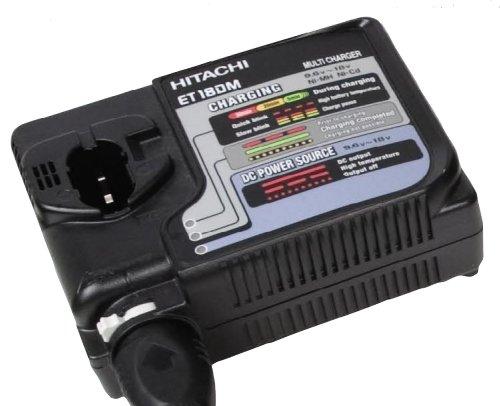 Hitachi ET18DM Universal AC/DC Rapid Charger 7.2 Volt to ...
