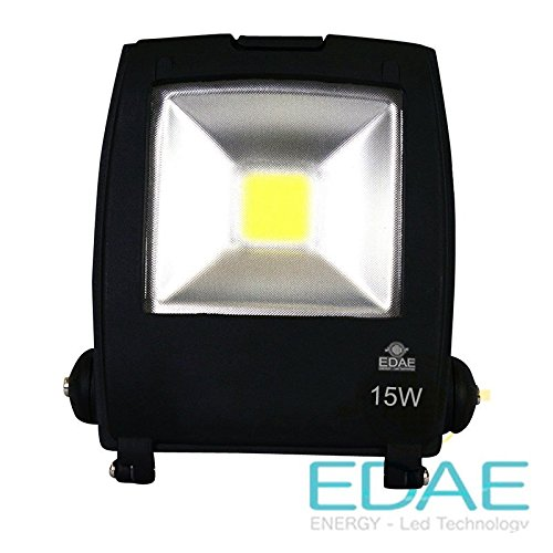 Proyector LED 20W 5500K, Foco LED Exterior 20W, 110Lm/W, 3 años ...