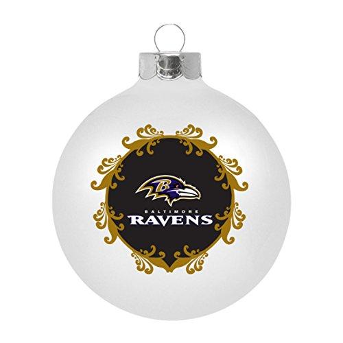 NFL Baltimore Ravens Large Ball Ornament
