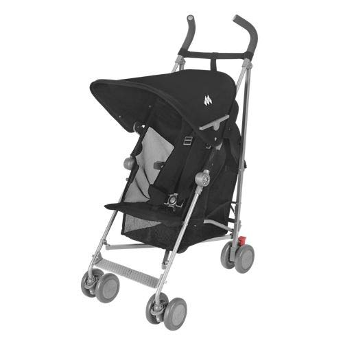 Maclaren Sherpa Stroller – Super Lightweight, Sleek, Compact, Easy to Steer, Waterproof/UPF 50+ Hood, Roomy Shopping Basket, Single Position Seat, Replaceable Parts Available