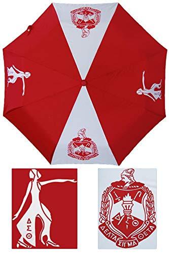 - Delta Sigma Theta Auto Open Folding Umbrella