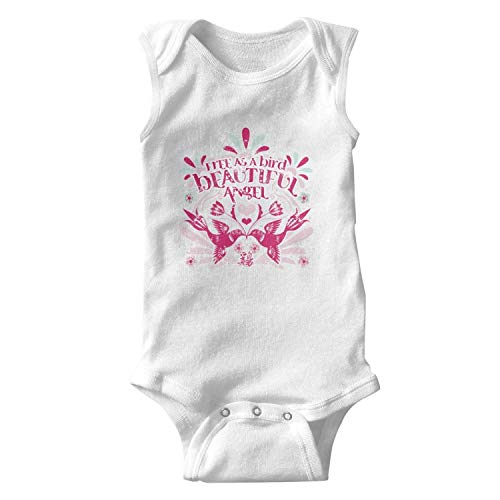 WSEDRF Bird Angel Chinese Character Chicken Sleeveless UK Baby Onesie]()