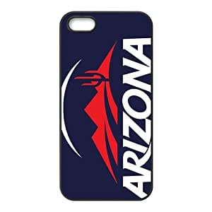 Customize NCAA Basketball Team Arizona Wildcats Back Cover Case for iphone 5 5S by ruishername