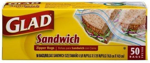 Amazon.com: Glad Zipper Bags, Sandwich 50 bags by Glad ...