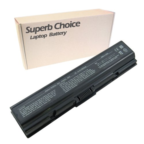 Battery 0et00x Laptop - Superb Choice 9-Cell Battery Compatible with Toshiba Satellite A200-0ET00X