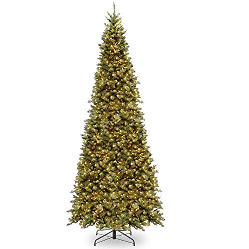 12' Pre-Lit Tiffany Fir Artificial Christmas Tree - Clear Lights