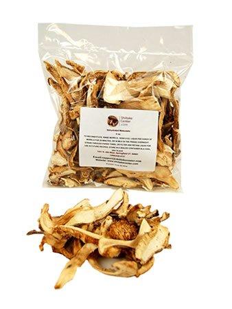 Dried Matsutake Mushrooms - 4 Oz. Bag - Dehydrated Edible Gourmet Tricholoma Matsutake Fungi: AKA Pine Mushrooms