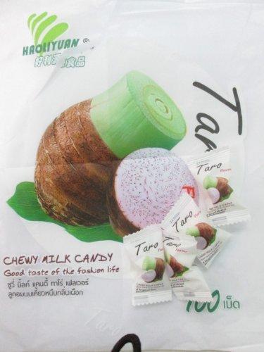 Chewy Milk Candy Taro Flavour 100 Pcs X 0.13 Oz.