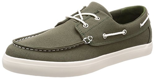 Timberland Union Wharf 2-Eye Boat Oxford Dark Green Canvas (9 D(M) US) (Timberland 2 Eye)