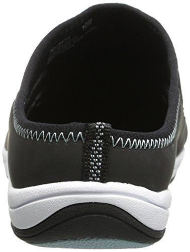 Easy Street Kvinna Barbara Mode Sneaker Svart Läder / Tyg