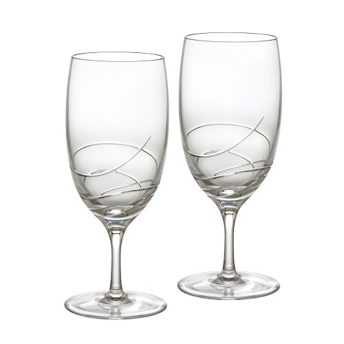 Waterford Ballet Ribbon Essence Iced Beverage Pair Essence Iced Beverage Glass