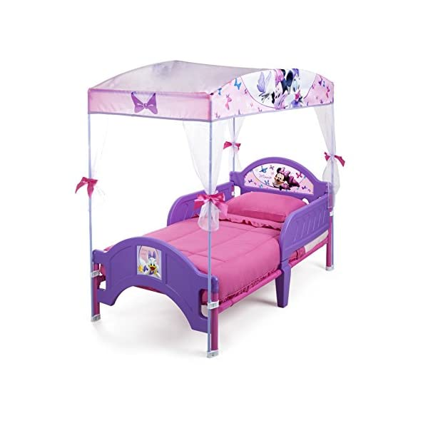 Delta Children's Products Minnie Mouse Canopy Toddler Bed 2
