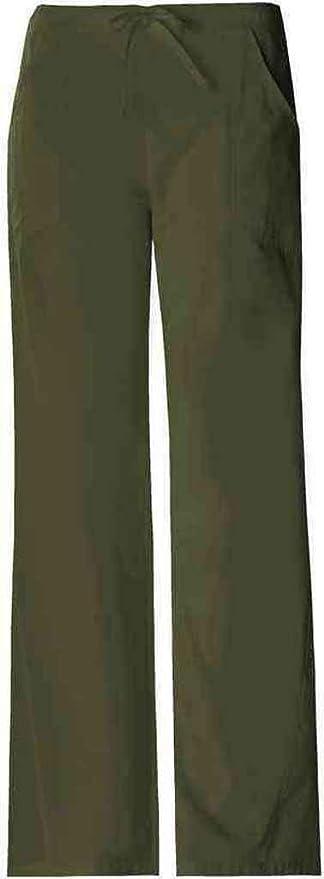 e2ed4a12e66 Amazon.com: Cherokee Womens Pro-Flexibles Drawstring Pant, Black: Clothing