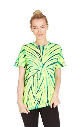 Krazy Tees Tie Dye T-Shirt, Wild Spider, S