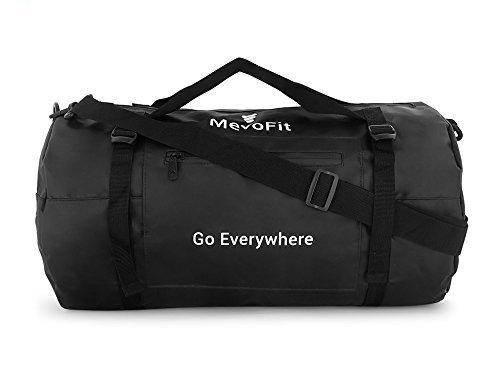 MevoFit Bolsa de deporte para gimnasio o viajero con bolsillos secos para móviles y accesorios, para hombres y mujeres, polipropileno, impermeable, 30 litros, color azul