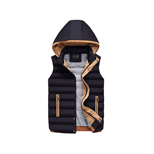 and Men's DYLBD Winter Wild Warm Black Down Vest Autumn Stylish Axxwnpagq