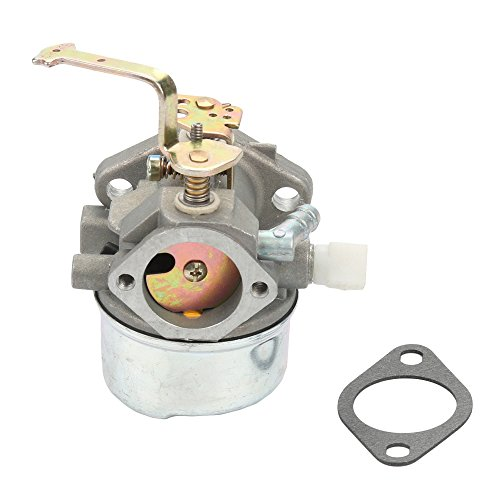 Carburetor with Air Filter For Tecumseh HM80 HM90 HM100 LH318XA LH358EA 640152A 640023 640140 640051 640152 640260 Carb Lawnmower Snow blower Oregon 50-655 Rotary 13154