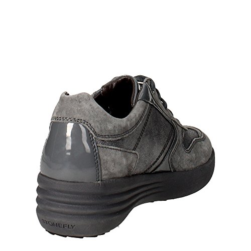 Gris 305 comodidad STONEFLY cordones zeppetta zapatillas 105 mujeres grises zapatos de SxwqvH5