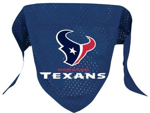 Houston Texans Pet Dog Football Jersey Bandana S/M, My Pet Supplies