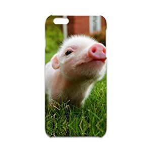 Custom dibujos animados Animal Lovely Pig Phone Case for iPhone 6 Plus 3d Case