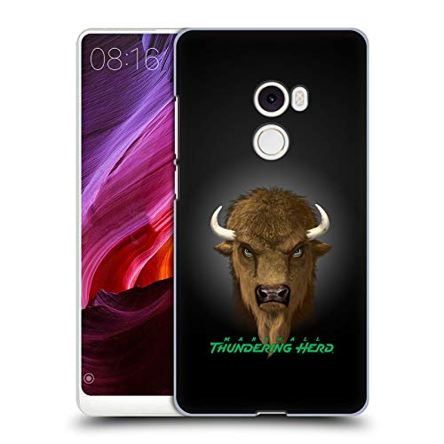 (Official Vincent HIE Marshall University Collegiate Varsity Hard Back Case Compatible for Xiaomi Mi Mix 2)