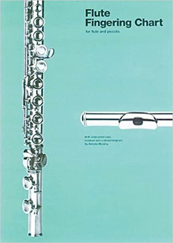 Amazon.Com: Flute Fingering Chart (Amsco Fingering Charts