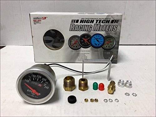 (OBX Racing Sports Black Diamond Cylinder Head Temp Meter)