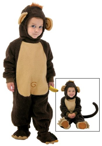 Fun Costumes Little Boys Toddler Funny Monkey Fleece Costume -