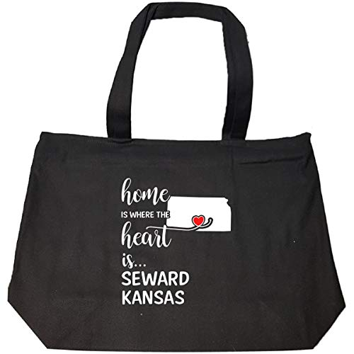 Seward County Kansas Is Where My Heart Is Gift - Tote Bag With ()