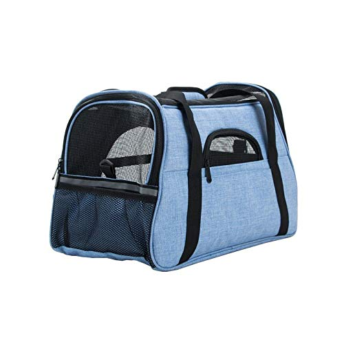 Nosterappou Pet Supplies, Dog cat cage Dog Bag pet Bag pet Backpack, Convenient and Practical cat and Dog Carrying case