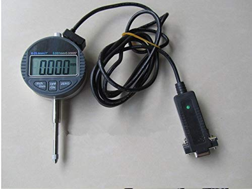 GOWE 25.4mm 0.001mm Micron electronic indicator digital dial indicator with output datalink with RS232 9holes data output
