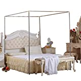 Canopy Bed Mosquito Netting Stainless Steel Frame/Post Full/Queen Size