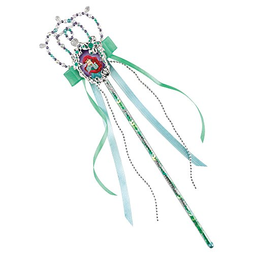 Official Disney Ariel Costume (Disney The Little Mermaid Ariel Wand Costume Accessory)