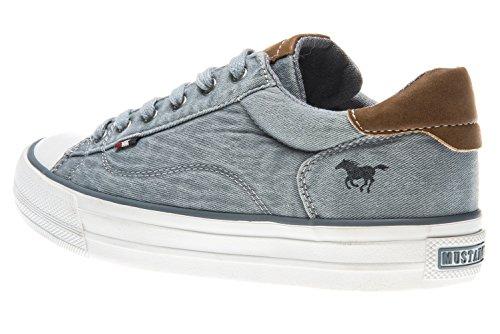 Sneaker 1272 301 Mustang 870 Damen Aqua Blau 870 HqEEwIx65