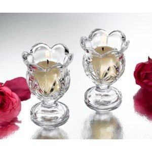 Studio Silversmith 43628 Set of 2 Small Hurricane Votives by Studio Silvesmith