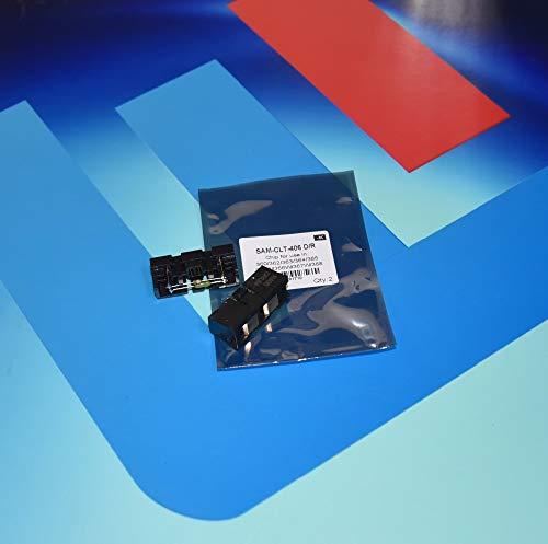 Yoton 4pcs Black CLT406S Drum Unit chip for Samsung clp 360 365 clx 3300  3305 3305w c460 c460w c410w c 410w 460w Image Cartridge Reset